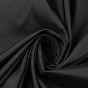 Tecido Tafetá Toque de Seda Preto