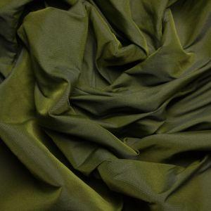Tecido Tafetá Toque de Seda Verde Militar