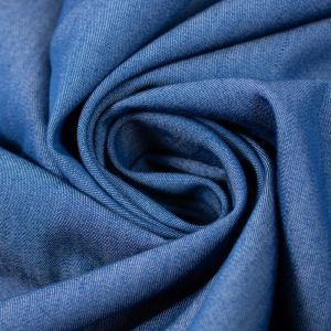 Tecido Tencel Azul Denim Claro