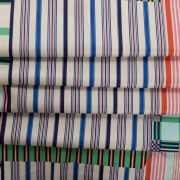 Tecido Tricoline Acetinada Estampa Geométrica