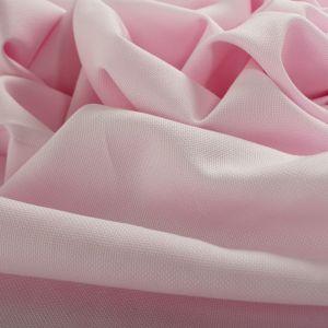 Tecido Tricoline Algodão Italiana Tropical Rosa Claro