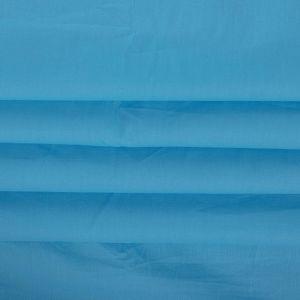 Tecido Tricoline Azul Aquário