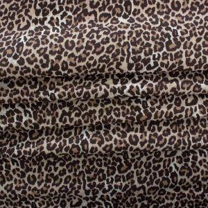 Tecido Tricoline Estampa Animal Print Oncinha