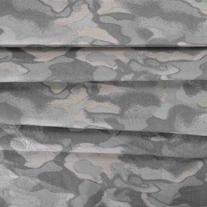 Tecido Tricoline Estampa Camuflada Cinza