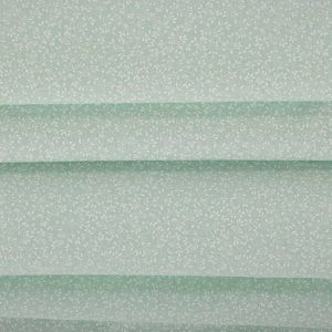 Tecido Tricoline Estampa Micro Floral Verde Menta