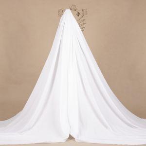 Tecido Tricoline Maquinetada Listrada Branco Cru