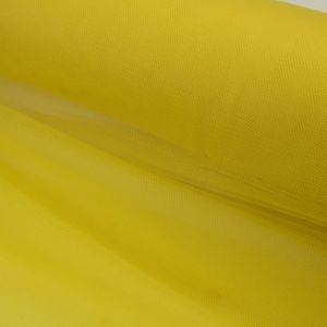 Tecido Tule Comum Amarelo Sol
