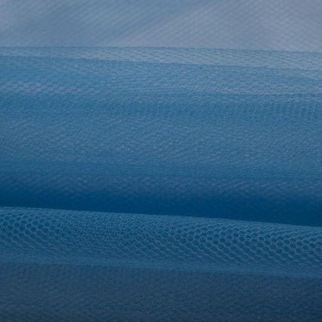 Tecido Tule Comum Azul Celeste