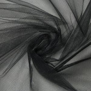 Tecido Tule Comum Preto