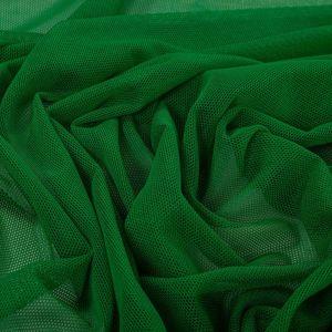 Tecido Tule de Malha Verde Bandeira