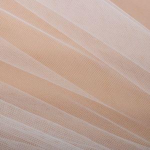 Tecido Tule Francês Branco Fosco