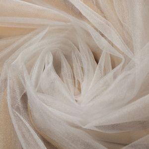 Tecido Tule Frances com Brilho Off White
