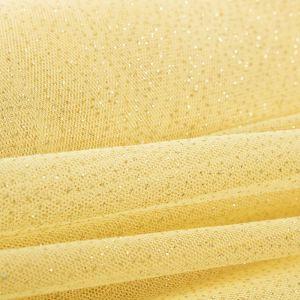Tecido Tule Glitter Amarelo