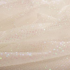 Tecido Tule Glitter Branco