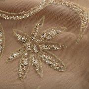 Tecido Tule Glitter Dourado