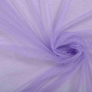 Tecido Tule Glitter Lilás Azulado