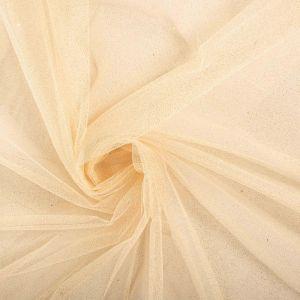 Tecido Tule Glitter Marfim