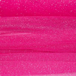 Tecido Tule Glitter Pink