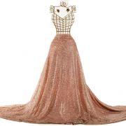 Tecido Tule Glitter Rosé Nude