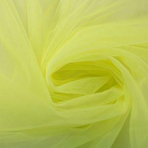 Tecido Tule Ilusion Amarelo Limão Neon