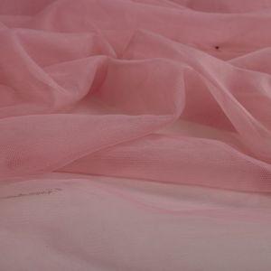 Tecido Tule Ilusion Rosa Blush Rosado