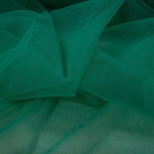Tecido Tule Ilusion Verde Esmeralda