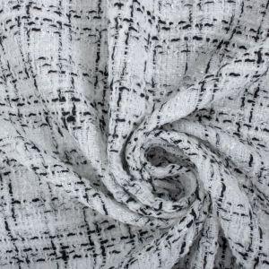 Tecido Tweed Branco