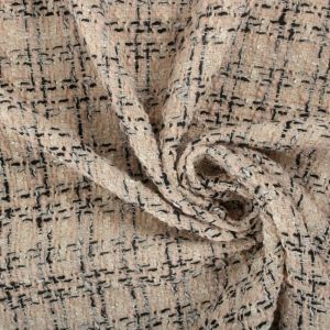 Tecido Tweed Areia