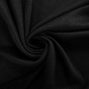 Tecido Tweed Lã Pura Preta