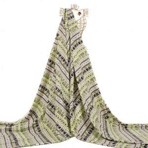 Tecido Tweed Light de Algodão Estampa Étnica