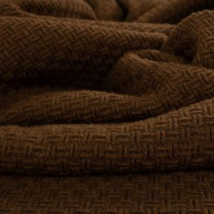 Tecido Tweed Marrom Chocolate