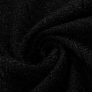 Tecido Tweed Xadrez Preto