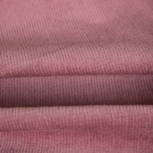 Tecido Veludo Cotelê Rosa Blush
