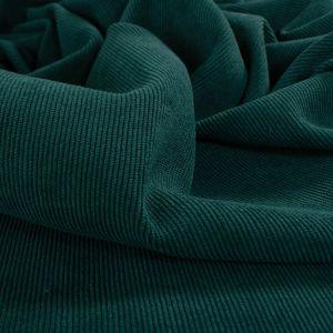 Tecido Veludo Cotelê Span Verde Garrafa Escuro