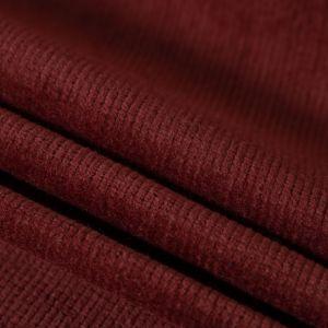 Tecido Veludo Cotelê Vermelho Queimado