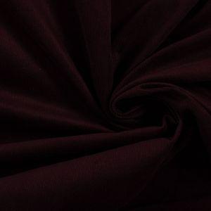 Tecido Veludo Cotelê Vinho Escuro