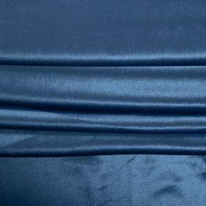 Tecido Veludo Cristal Azul Denim