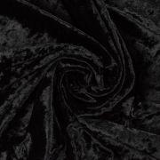 Tecido Veludo Molhado Preto
