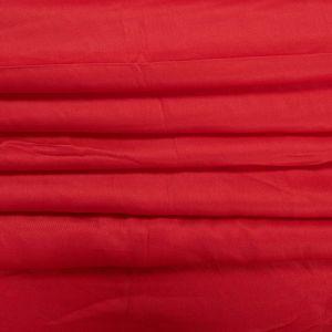 Tecido Viscose Acetinada Vermelha