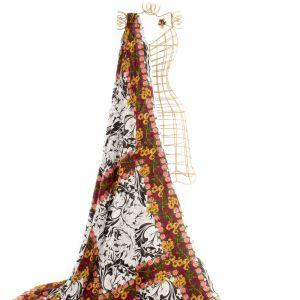 Tecido Viscose Estampa Floral
