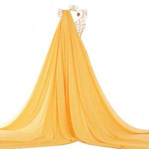 Tecido Viscose Estampa Liberty Amarela