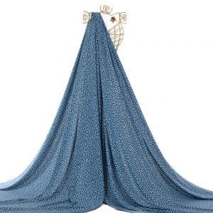 Tecido Viscose Estampa Liberty Azul Safira