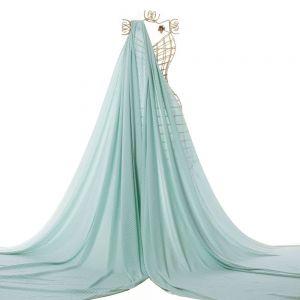Tecido Viscose Estampa Listras Verde Tiffany
