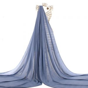 Tecido Viscose Estampa Mini Poá Azul Denim