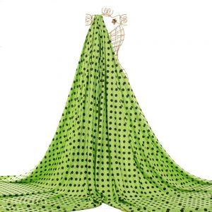 Tecido Viscose Estampa Poá Verde Lima