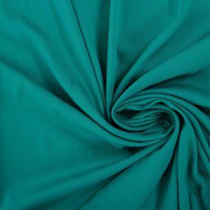 Tecido Viscose Span Verde Esmeralda Escuro