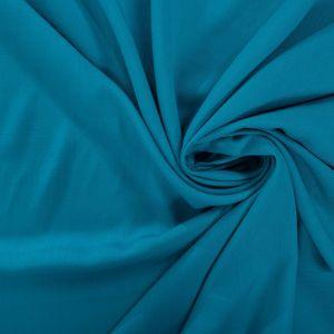 Tecido Viscose Trama de Linho Azul Aquário Intenso