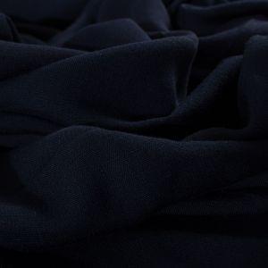 Tecido Viscose Trama de Linho Azul Marinho