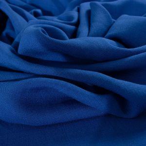 Tecido Viscose Trama de Linho Azul Royal