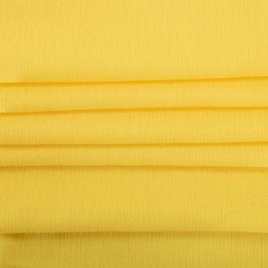 Tecido Viscose Trama de Gaze Amarelo